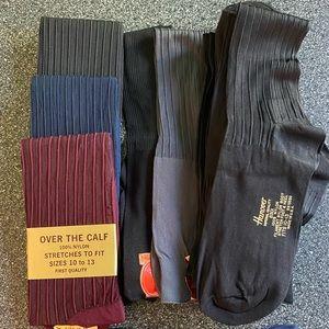 12 Nylon Sheer Trouser Tuxedo Dress Bundle